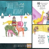 Violetta and the Rainbow Vicunas