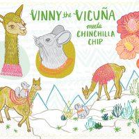 Vinny The Vicuna Meets Chinchilla Chip