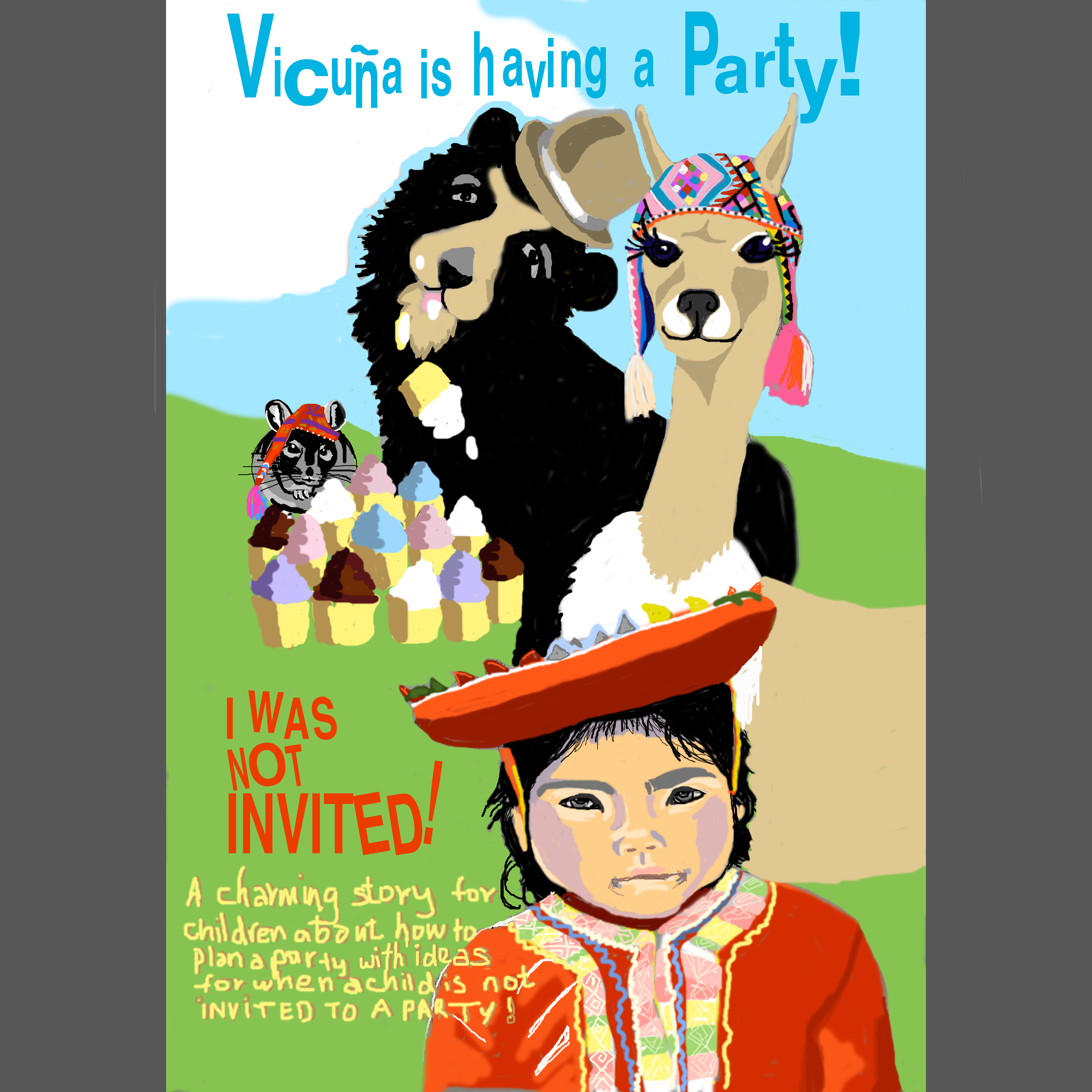 Vicuna is having a Party
