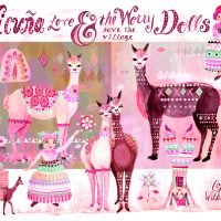 Vicuna Love and the Worry Dolls