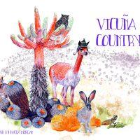 Vicuna Country by Paula Morgan