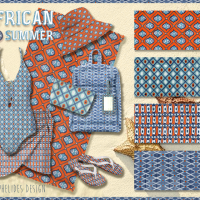 AFRICAN SUMMER patterns collection