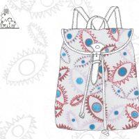 Elemental badass backpack by Eva Verity