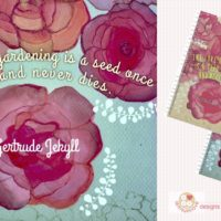 Rose Journal by Yayun Chang-Cahill