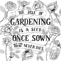 The Love Of Gardening