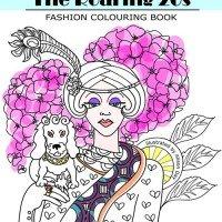 The Roaring 20s – Fashion Colouring Book