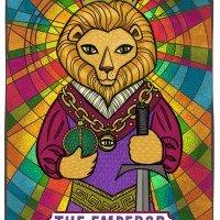 The Emperor Tarot Card by Angela Martini