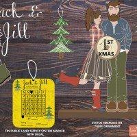 LumberJack & LumberJill's First Christmas