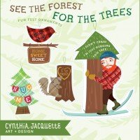 See The Forest For The Trees Ornaments