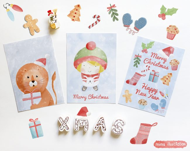 ChristmasPostcards
