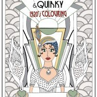 Courageous & Quirky - 1920's Colouring by Jennifer Reid