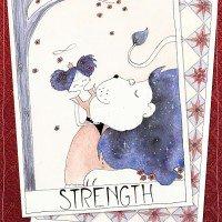 tarotcard Strength