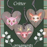 Forrest critters ornaments