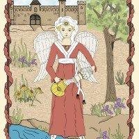 Medieval Tarot Temperance-Jeanne Bosko