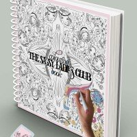 The Sassy Girl's Club Colouring Book