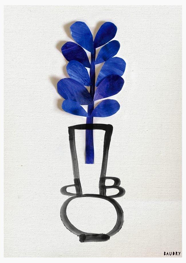 Lisa_Baudry_Botanical_Vase