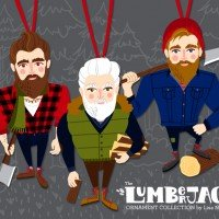 Lumberjack Ornament Collection
