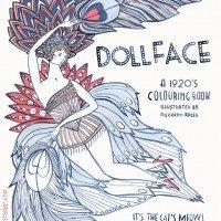 Dollface A 1920's Colouring Book