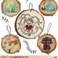 Lumberjacks Ornaments