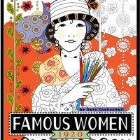 Famous Women Coloring Book