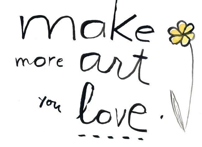 make-more-art-you-love