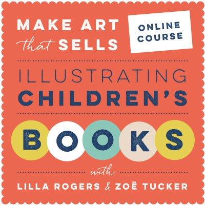 Illustrating Children\'s Books October 2018 | Make Art That Sells